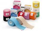 4 rolki PROFESJONALNYCH Plastrów Kinesiology Tape (Nasara zestaw) (1)