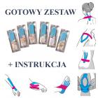 KINESIO TAPE - zestaw gotowych aplikacji + INSTRUKCJA (ortgot1)